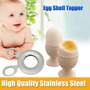 Yongse Stainless Steel Boiled Egg Shell Topper Cutter Snipper Opener Kitchen Gadget