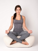 """Alexia Meditation Seat """"Ergonimically Correct for the Human Physiology"""" Zen Yoga Ergonomic Chair Foam Cushion Home or Office"""