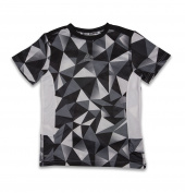 RBX Active Boy's Athletic Solid Block T-Shirt with Contrast Stitching