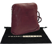 Italian Soft Leather Hand Made Small / Micro Cross Body or Shoulder Bag Handbag. Includes Branded Protective Storage Bag.
