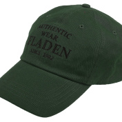 FLADEN FISHING Authentic Wear 100% Cotton Green Peaked Baseball Cap - Excellent Sun Weather Protection whilst Fishing [22-AW1833G]