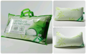 NEW Luxury Memory FOAM BAMBOO PILLOW ~ Head Neck Support ~ Anti-Allergy & Anti Bacterial orthopaedic PILLOW ~ ONE standard SIZE with Removable Cover