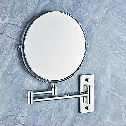 Extending Magnifying Bathroom Mirror on extendable makeup bathroom mirror, extendable shaving mirror, extending makeup mirror,