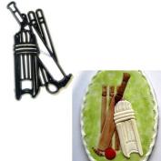 Patchwork Cutters - Cricket - Sugarcraft Cutter