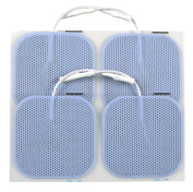 TENS Electrode Pads - Blue 5cm Square with Axelgaard Adhesive Gel