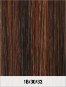 LORD & CLIFF EVITA SIX PIECE STRAIGHT HUMAN HAIR CLIP IN EXTENSION 36cm 1B/30/33