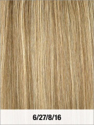 LORD & CLIFF SEVEN PIECE STRAIGHT REMY HAIR CLIP IN EXTENSION 46cm 6/27/8/16