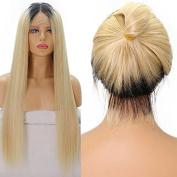 Ten Chopstics 9A Silky Straight Hair Two Tone Ombre Human Hair Wigs Brazilian Virgin Hair for Black Women Natural Baby Hair in Stock