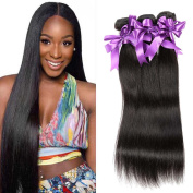 Unprocessed Malaysian Virgin Hair Straight 3 Bundles Malaysian Straight Hair Natural Black Straight Virgin Human Hair