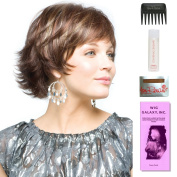 Ruby by Amore, Wig Galaxy Hair Loss Booklet, 60ml Travel Size Wig Shampoo, Wig Cap, & Wide Tooth Comb (Bundle - 5 Items), Colour Chosen