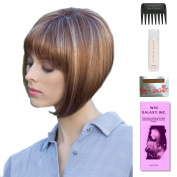 Sadie by Amore, Wig Galaxy Hair Loss Booklet, 60ml Travel Size Wig Shampoo, Wig Cap, & Wide Tooth Comb (Bundle - 5 Items), Colour Chosen