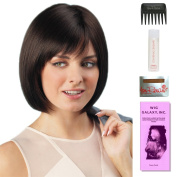 Erika by Amore, Wig Galaxy Hair Loss Booklet, 60ml Travel Size Wig Shampoo, Wig Cap, & Wide Tooth Comb (Bundle - 5 Items), Colour Chosen