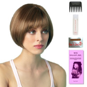 Erin by Amore, Wig Galaxy Hair Loss Booklet, 60ml Travel Size Wig Shampoo, Wig Cap, & Wide Tooth Comb (Bundle - 5 Items), Colour Chosen
