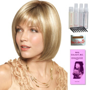 Veronica by Amore, Wig Galaxy Hair Loss Booklet, Shampoo, Conditioning Spray, Flexible Spray, HD Smooth Detangler, Wig Cap, & Wide Tooth Comb (Bundle - 8 Items), Colour Chosen