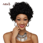 BeautyGal Adiors Women Outstanding Short Fluffy Curly Synthetic Wig