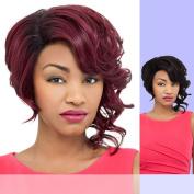 DAISY (Foxy Lady) - Heat Resistant Fibre Lace Part Wig in RT1BWINE