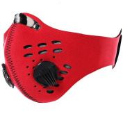 Senston New Style Neoprene Anti Dust Motorcycle Bicycle Cycling Ski Half Face Mask Filter