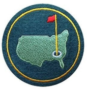 AUGUSTA US NATIONAL MASTERS PGA GOLF GREEN JACKET FELT PATCH 7.6cm