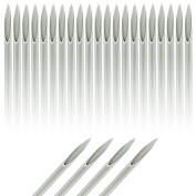 25-Pack Piercing Needles Sealed and Sterlized - 9 Sizes to Choose From
