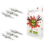 BIGWASP Professional 11RM Disposable Tattoo Needle Cartridge 11 Curved Magnum 20Pcs