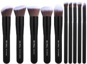 BS-MALL(TM) Makeup Brush Set Premium Synthetic Kabuki Makeup Brush Set Cosmetics Foundation Blending Blush Eyeliner Face Powder Lip Brush Makeup Brush Kit