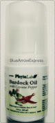 Burdock Oil with Cayenne Pepper for Healthy Scalp and Hair 2 fl oz/60 ml