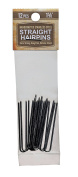 4.1cm Inch Straight Stainless Steel Heavy Duty Snagless Hairpins Pack of 12 Handmade Hair Pin
