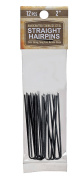 5.1cm Inch Straight Stainless Steel Heavy Duty Snagless Hairpins Pack of 12 Handmade Hair Pin