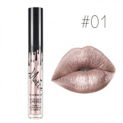 SHERUI 1PCS Waterproof Long Lasting Matte Liquid Lipstick Beauty Lip Gloss #01