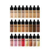 MINI Dinair Airbrush Makeup Bottles Set | Artists Travel Kit