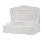 Alonea Tray Box Sterilising Clean Nail Art Steriliser Salon Manicure Implement Tool