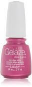 Gelaze Gel-N-Base Polish, Purple Panic, 0.5 Fluid Ounce