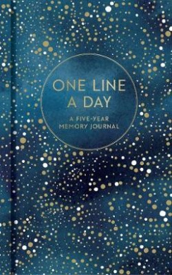 One Line a Day (Celestial): A Five-Year Memory Book