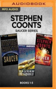 Stephen Coonts Saucer Series: Books 1-3: Saucer, Saucer [Audio]