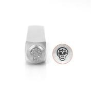 ImpressArt- Sugar Skull Metal Stamp, 6mm