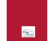 Accent Design Paper Accents ADP1212-5.882 30cm x 30cm Pearlized Dark Red Cardstock