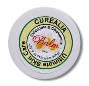 Natural Herbal Tattoo Aftercare Balm, Made with Calendula & Chamomile - Curealia