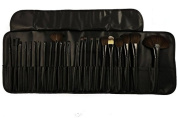KOLIGHT 24pcs Top Professional Wool Cosmetic Makeup Brush Set Kit Brushes & tools Make up Case