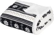 Baby Nordic Soft Sherpa Blanket 80cm X 100cm