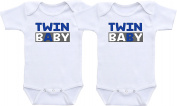 Twin A Twin B - Twin Baby Sets Cute Twin Outfit