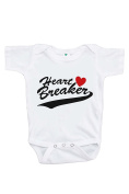 Custom Party Shop Baby's Heart Breaker Happy Valentine's Day Onepiece