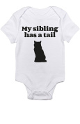 "T-Rex Apparel ""My Sibling Has A Tail"" Cat"