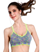 ZAIQUN The Ultimate comfort Bra. Premium Quality Thick Material - Guaranteed Best On The Market Seamless Support Comfort Sport Stretch Action Leisure Purple Red Green Black Blue