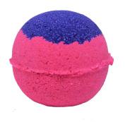 Bath Bomb 160ml Love Spell Skin Loving Purple & Pink w Coconut Oil & Kaolin Clay