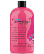 Philosophy Trolls Peppy's Berrylicious Journey Shampoo, Bubble Bath & Body Wash shower gel limited edition special