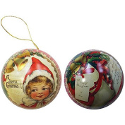 The English Soap Company Festive Tin Bauble - Elf & Bells 90g