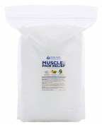 Muscle & Pain Relief Bath Salt 5.4kg Bulk Size -  .   - Epsom Salt With Eucalyptus & Peppermint Essential Oils & Vitamin C - Natural Relief For Aches & Joint Pain