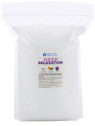Deep Relaxation Bath Salt 5.4kg Bulk Size -  .   - Epsom Salt With Lavender Essential Oils & Vitamin C - All Natural No Perfumes & No Dyes - Relieve Tension & Stress Naturally