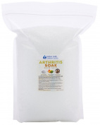 Arthritis Bath Salt 5.4kg Bulk Size -  .   - Epsom Salt With Frankincense Essential Oils & Vitamin C - Arthritis Relief With All Natural Bath Soak - No Perfumes No Dyes