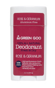 Sierra Sage Green Goo 100% All Natural Deodorant-Rose & Geranium